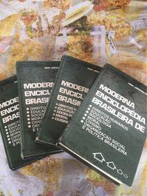 Moderna Enciclopédia Brasileira 3 Volumes
