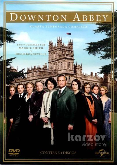 Downton Abbey Paquete Con Temporadas 1 2 3 Y 4 Serie En Dvd