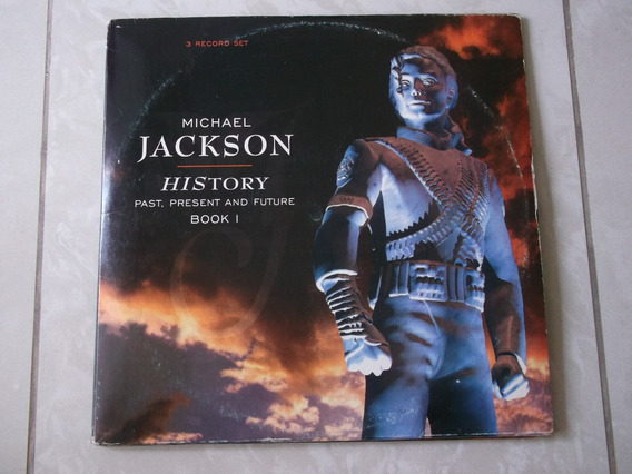 Lp Michael Jackson: History Past, Present And Future Triplo