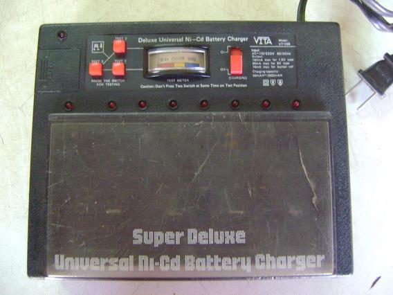 Carregador-testador Pilhas/baterias Vita Vt-398