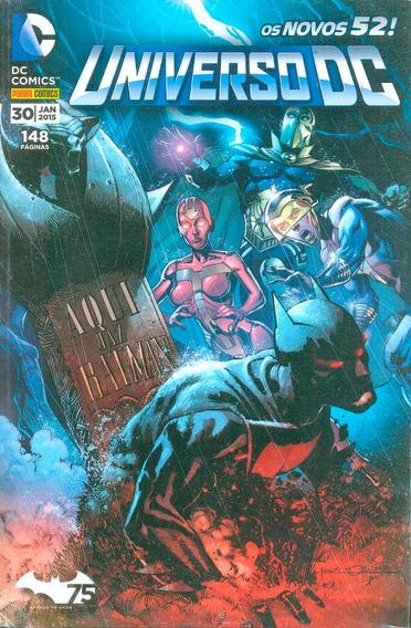 Hq Universo Dc 3ª Série - 2 Volumes Nº 30 E 31