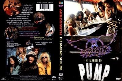 Aerosmith - The Making Of Pump Dvd - S
