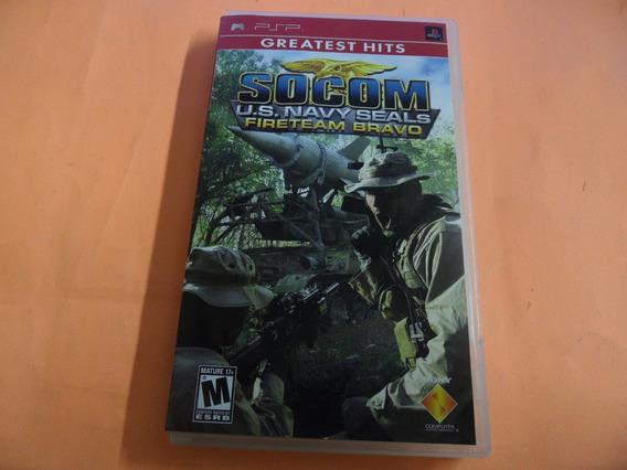 Socom U.s Navy Seals Original Playstation Portable Psp Umd