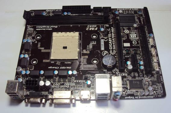 Placa Mae Gigabyte Mod. Ga-f2a75m-hd2 Fm2 Ddr3 C/defeito