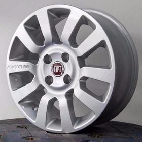 Jogo Roda Fiat Strada Adventure Aro14 Palio  Idea Doblo+pneu