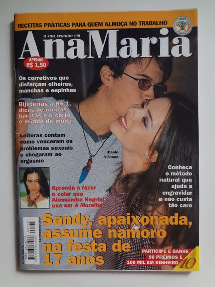 Revista Ana Maria Nº 175 Sandy