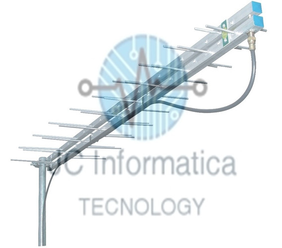 Antena Digital Externa Uhf 17dbi E Hdtv