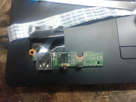 Placa Usb+som+botão Power Com Ultra Thin S23