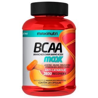 Bcaa Maxx - 120 Cápsulas - Maxinutri