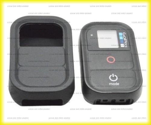 Gopro Capa Proteção Silicone Controle Remoto Wifi Hero 4 3+