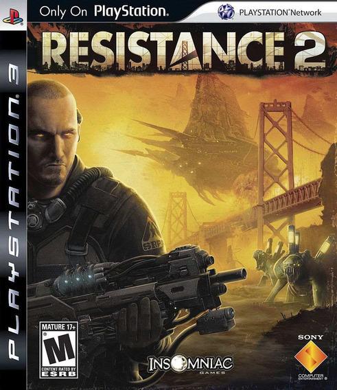 Resistance 2 - Exclusivo Playstation 3 Completo - Sem Juros