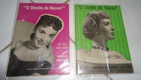 Lote Com 2 Revistas - O Direito De Nascer, Ano 1952, Raras