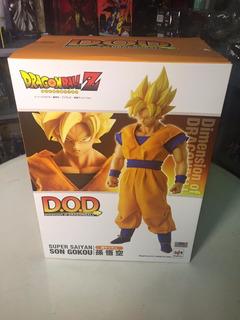Dragonball Dod Super Saiyan Goku Pvc Megahouse 100% Original