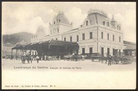 Santos - Estação Da Estrada De Ferro - 28091301