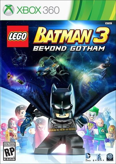 Lego Batman 3 Beyond Gotham Xbox 360 Mídia Física Português