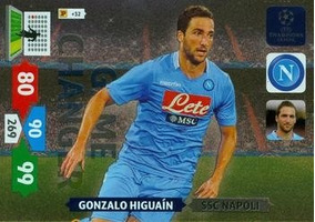 Cards Champions League 2013/14 Game Changer Higuain Napoli