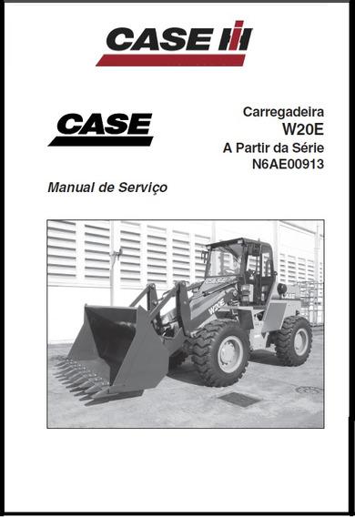 Manual Tecnico Serviço Carregadeira Case W20 E