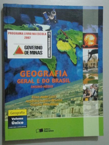 Livro Geografia Geral E Do Brasil - Volume Único