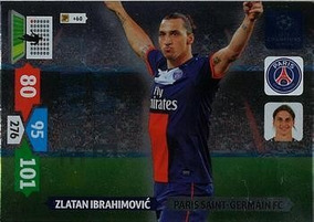 Cards Champions League 2013/14 Game Changer Ibrahimovic Psg
