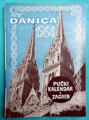 Dánica 1964 - Pucki Kalendar Zagreb 1964