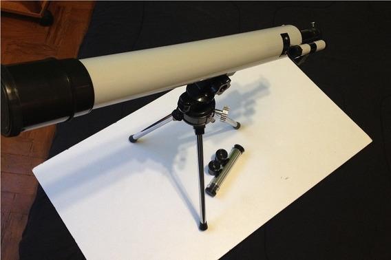 Telescópio Refrator Com Tripé