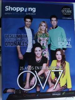 Revista Shopping Con Ov7 Onda Vaselina En Portada
