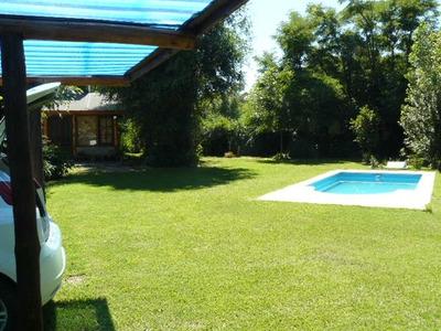 Villa Rumipal,alquiló Casa P/6 Y/o Cabaña P/4 Con Pileta