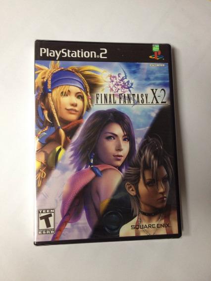 Final Fantasy X-2 Lacrado - Black Label - Ps2 Americano .