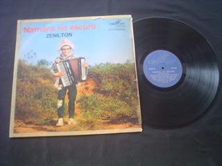 Lp Zenilton - Namoro No Escuro -cantagalo -1969 -raridade
