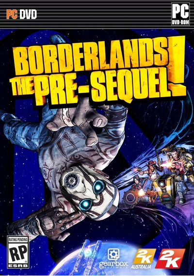 Jogo Novo Lacrado Borderlands The Pre Sequel Para Pc
