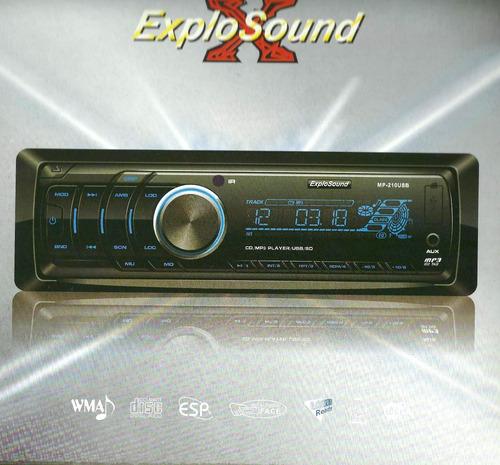 Stereo Sony Explosound Mp-210 Usb