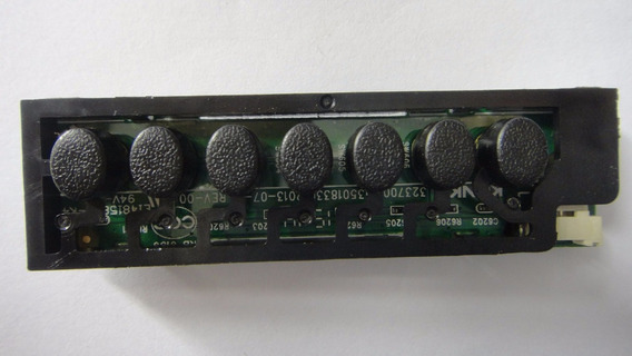 Teclado De Funções Da Tv Semp Toshiba 40l2400, Original