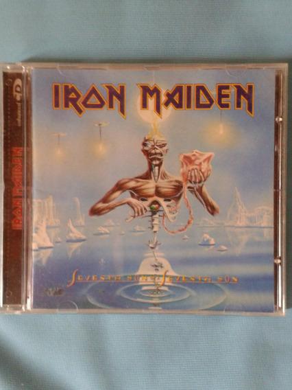 Cd Iron Maiden Seventh Son Remasterizado
