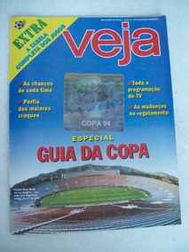 Veja Nº 1344:suplemento Especial Guia Da Copa De Futebol 94