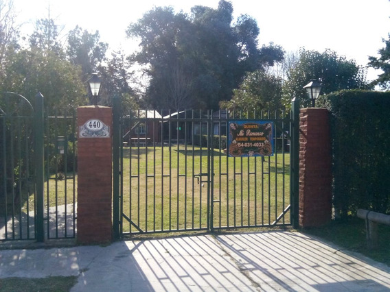Casa Quinta Alquiler Temporario Zona Oeste