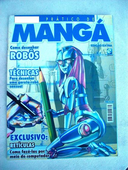Revista: Mangá - Desenhar Robôs - Retículas - Arthur Garcia