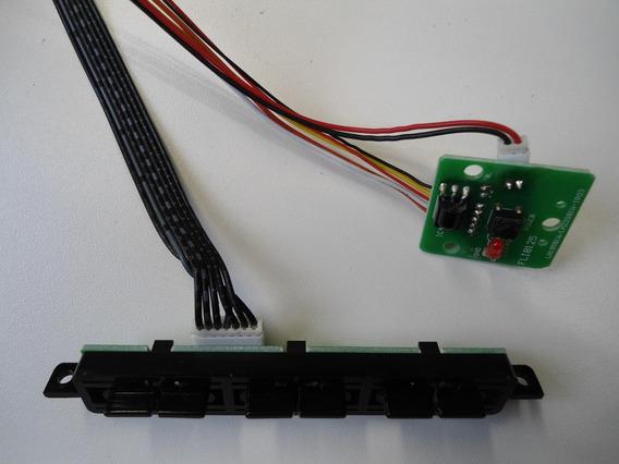 Placa Comandos + Teclado + Sensor Philco Tv Ph22 Lcd