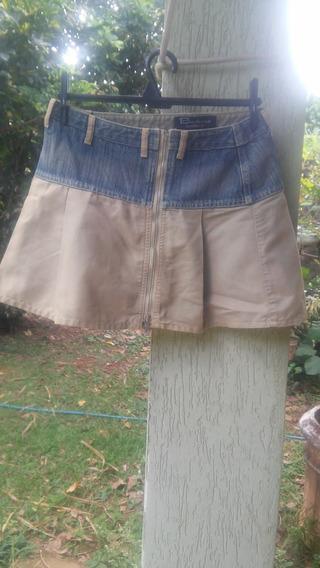 Saia Jeans Barbone Tam 38
