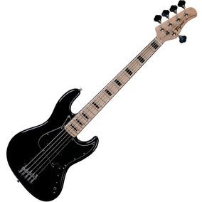 Contra Baixo Jazz Bass Tagima Tjb5 Preto 5 Cordas Passivo