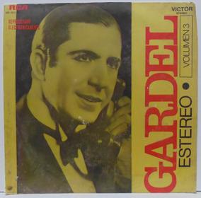 Lp Carlos Gardel - Gardel En Estereo Vol 3 - Rca Victor