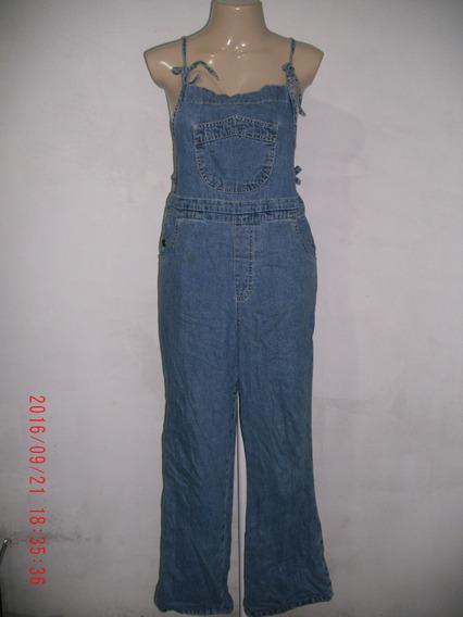 Lindo Macacão Jeans P/ Gestante Klain Tam: 42