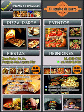 Pizza Party - Eventos A Domicilio- Zona Norte Y Capital