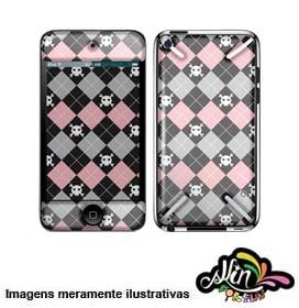 Adesivo 3d Skin Para iPod Touch 4 Pink It
