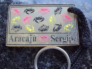 Chaveiro Lembrança De Aracaju - Sergipe - P12