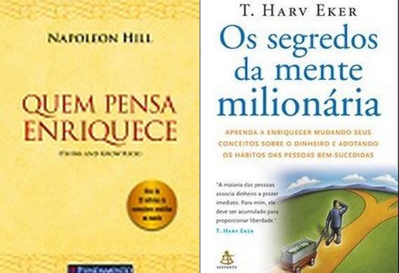Quem Pensa Enriquece + Os Segredos Da Mente Milionária