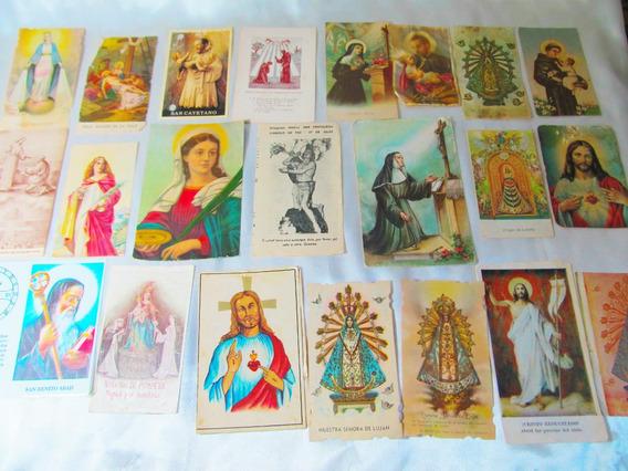 El Arcon Lote 20 Estampitas Religiosas 1930-1980 107 03