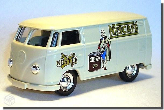 Miniatura Vw Kombi - Nestle - Corgi - Novo !!!