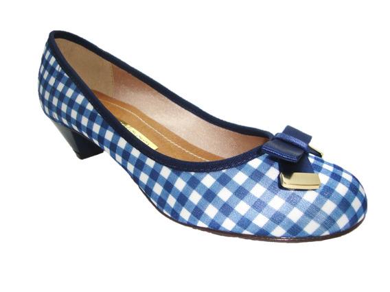 Sapato Feminino Moleca Boneca 5130.409 Azul