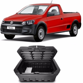 Caixa Baú Para Caçamba Bagageiro Volkswagen Saveiro Simples