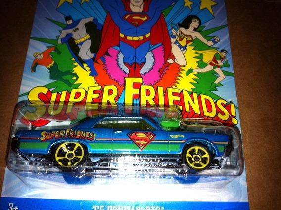 Miniatura 65 Pontiac Gto - Superman - Hot Wheels - Novo!